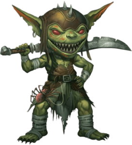 evil goblin